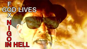 Le clip video de God lives in hell